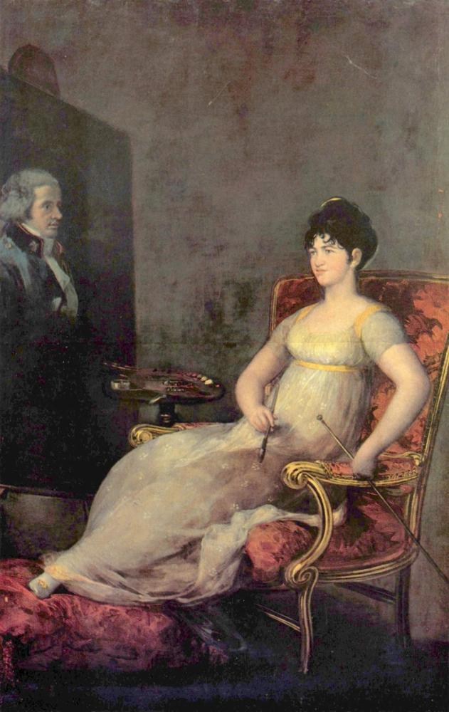 Francisco Goya, María Tomasa Palafox Villafranca Markizisi, Kanvas Tablo, Francisco Goya, kanvas tablo, canvas print sales