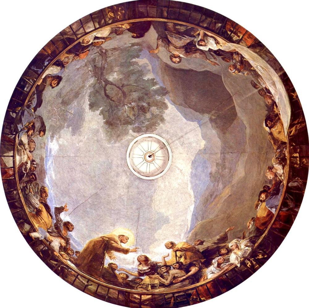 Francisco Goya, St Anthony Mucizesi, Kanvas Tablo, Francisco Goya, kanvas tablo, canvas print sales