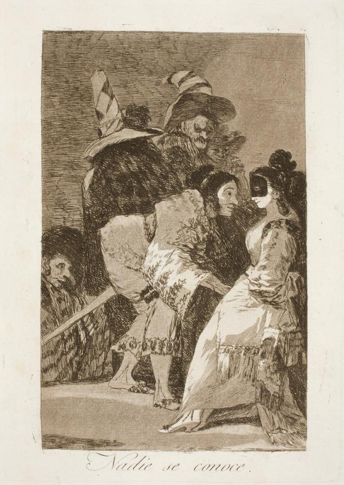 Francisco Goya, Hiç kimse Bilmiyor, Figür, Francisco Goya, kanvas tablo, canvas print sales