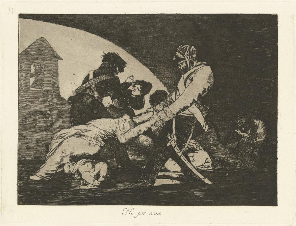 Francisco Goya, Bunları da Yapmaz, Figür, Francisco Goya, kanvas tablo, canvas print sales