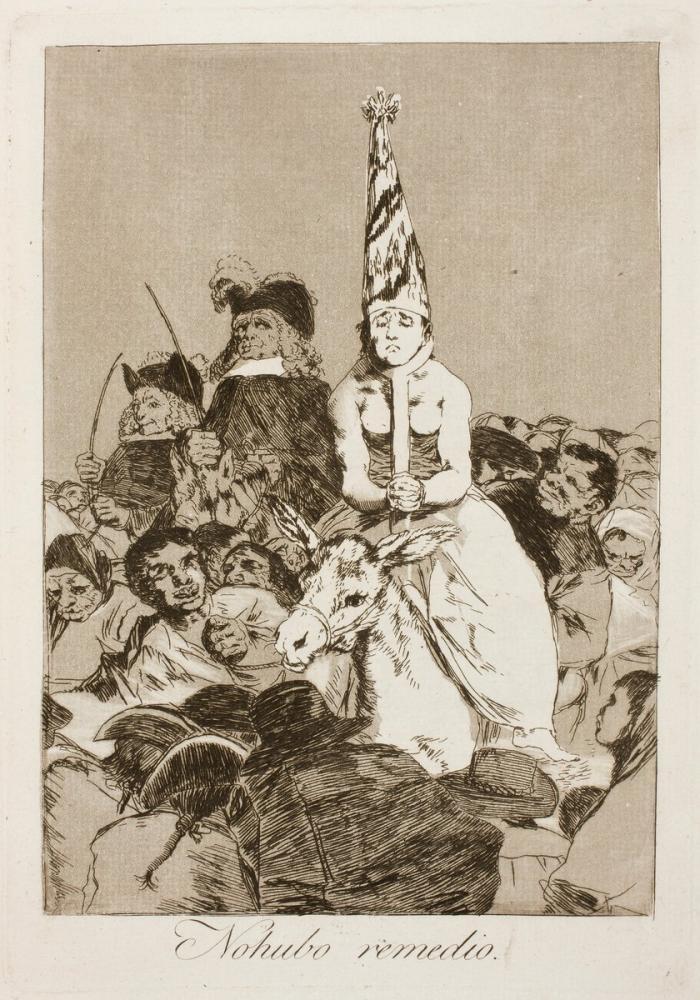 Francisco Goya, No Hubo Remedio, Canvas, Francisco Goya, kanvas tablo, canvas print sales