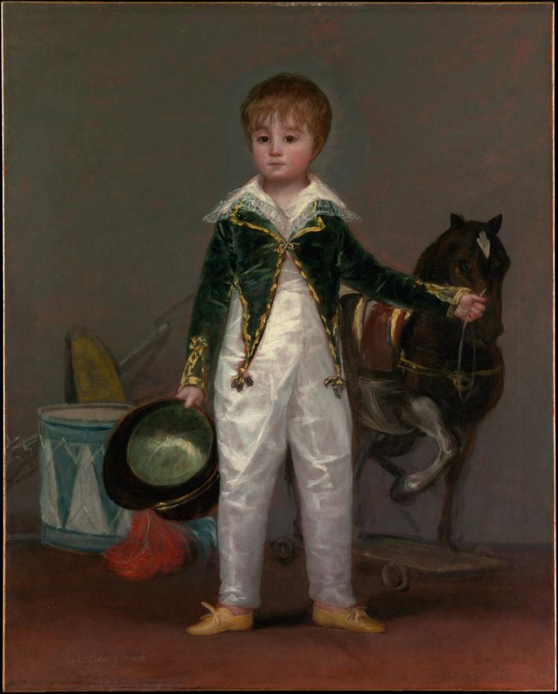 Francisco Goya, Pepito Costa y Bonells, Canvas, Francisco Goya, kanvas tablo, canvas print sales
