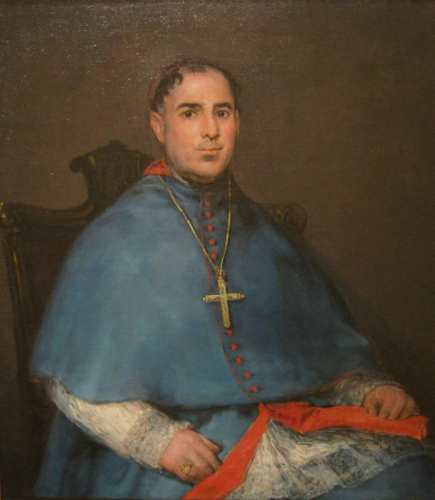 Francisco Goya, Don Miguel Fernandez Portresi, Kanvas Tablo, Francisco Goya, kanvas tablo, canvas print sales