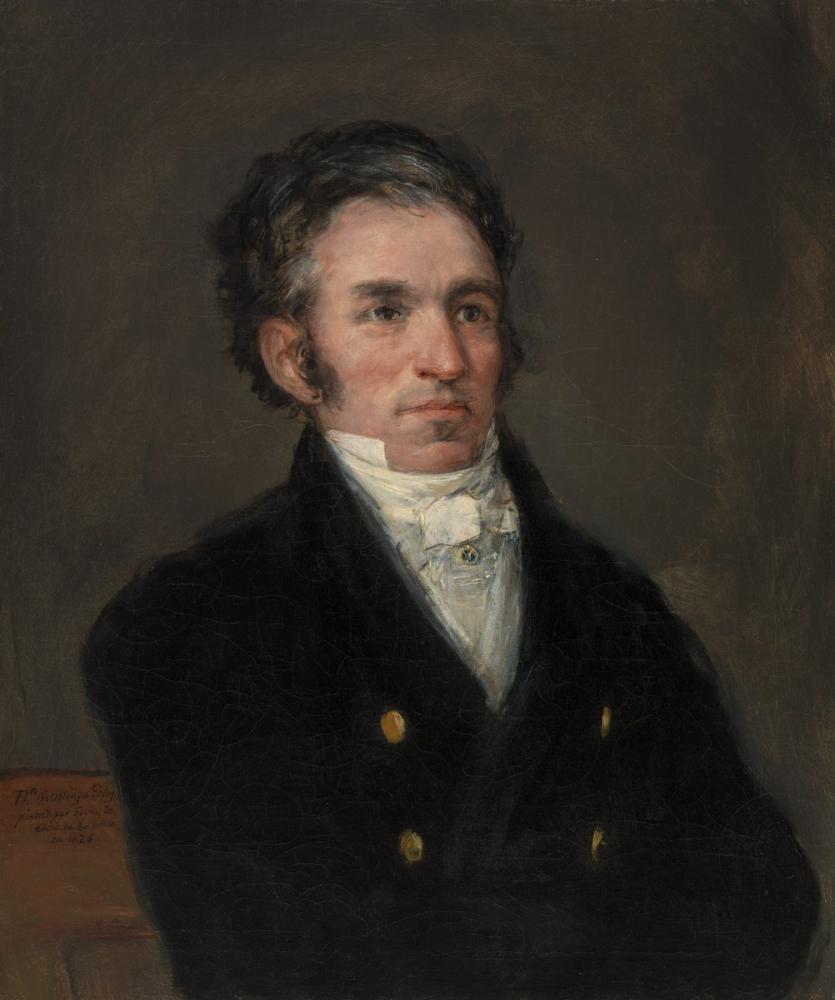 Francisco Goya, Portrait of Jacques Galos, Canvas, Francisco Goya, kanvas tablo, canvas print sales