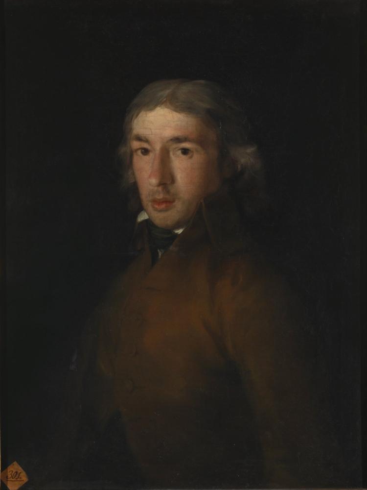 Francisco Goya, Portrait of Leandro Fernández Moratín, Canvas, Francisco Goya, kanvas tablo, canvas print sales