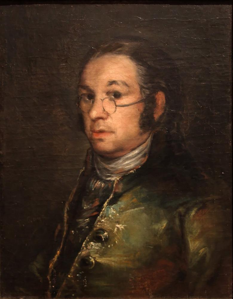 Francisco Goya, Autoportrait, Canvas, Francisco Goya, kanvas tablo, canvas print sales