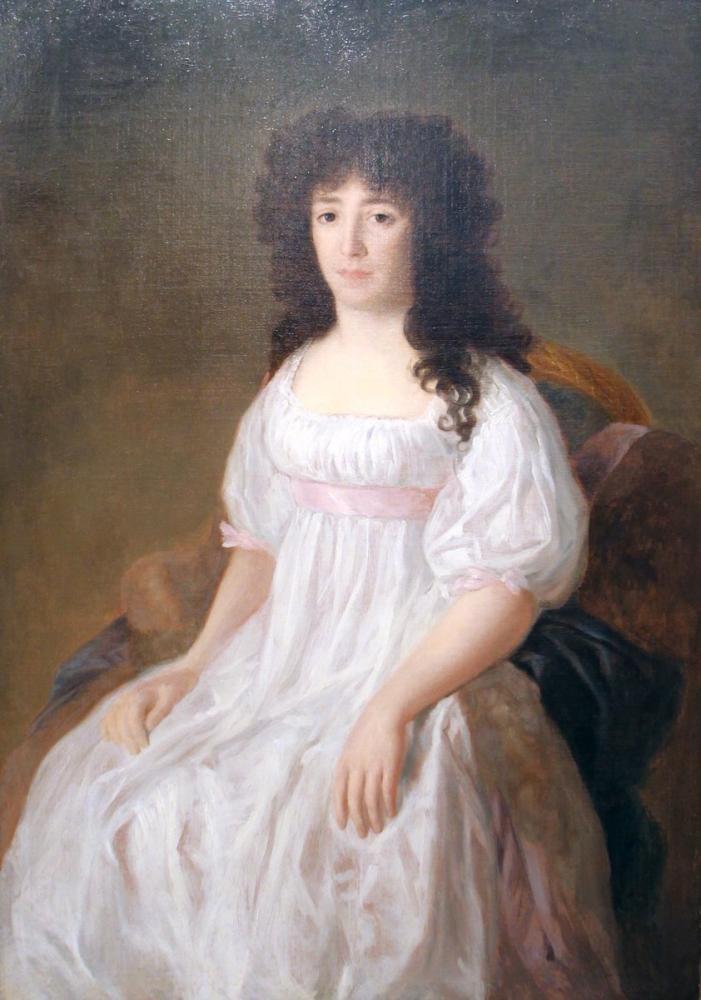 Francisco Goya, Casa Flores Kontesinin Portresi, Kanvas Tablo, Francisco Goya, kanvas tablo, canvas print sales