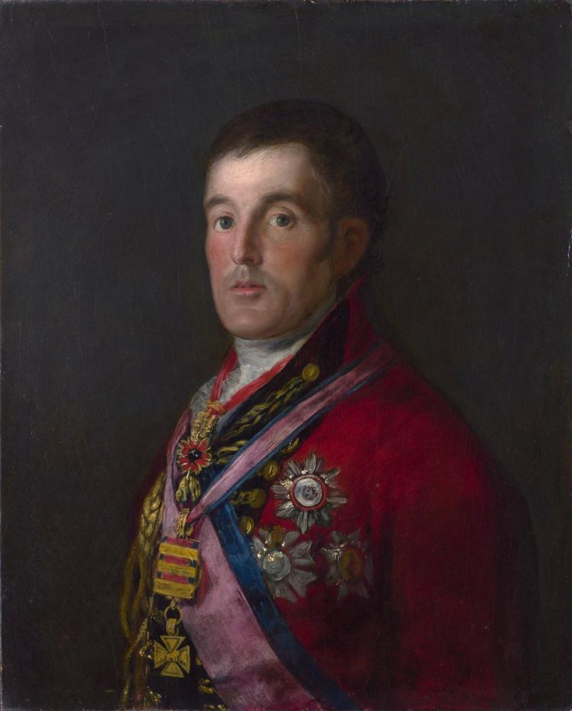 Francisco Goya, Wellington Dükü Portresi, Kanvas Tablo, Francisco Goya, kanvas tablo, canvas print sales
