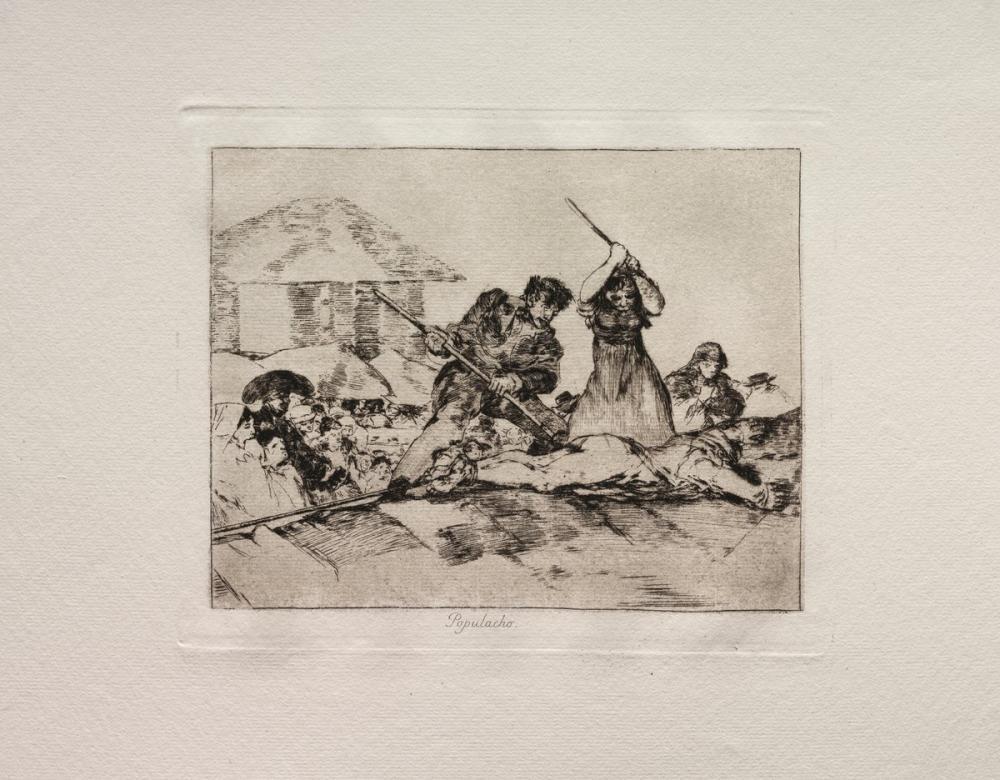 Francisco Goya, Rabble, Figure, Francisco Goya, kanvas tablo, canvas print sales