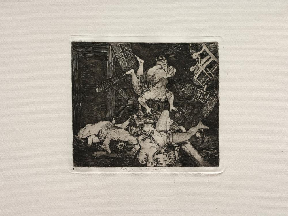 Francisco Goya, Savaşın Hacıları, Figür, Francisco Goya, kanvas tablo, canvas print sales