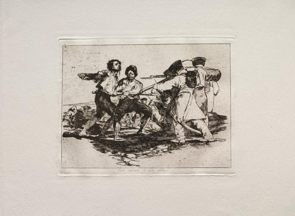 Francisco Goya, Rightly or Wrongly, Figure, Francisco Goya, kanvas tablo, canvas print sales