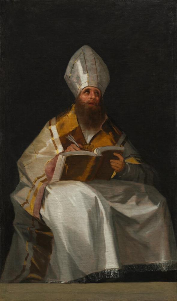 Francisco Goya, Saint Ambrose, Kanvas Tablo, Francisco Goya, kanvas tablo, canvas print sales