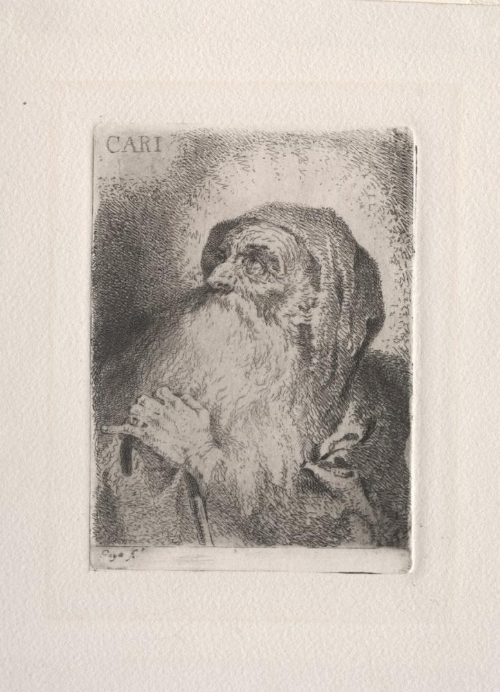 Francisco Goya, San de Paula Caritas, Canvas, Francisco Goya, kanvas tablo, canvas print sales