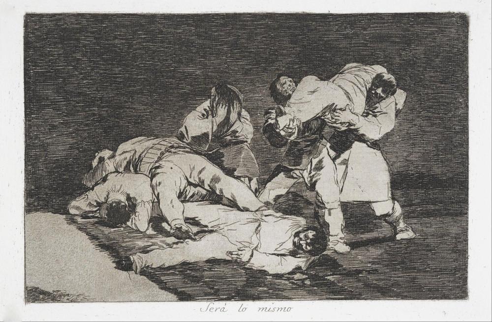 Francisco Goya, Será lo Mismo, Figure, Francisco Goya, kanvas tablo, canvas print sales