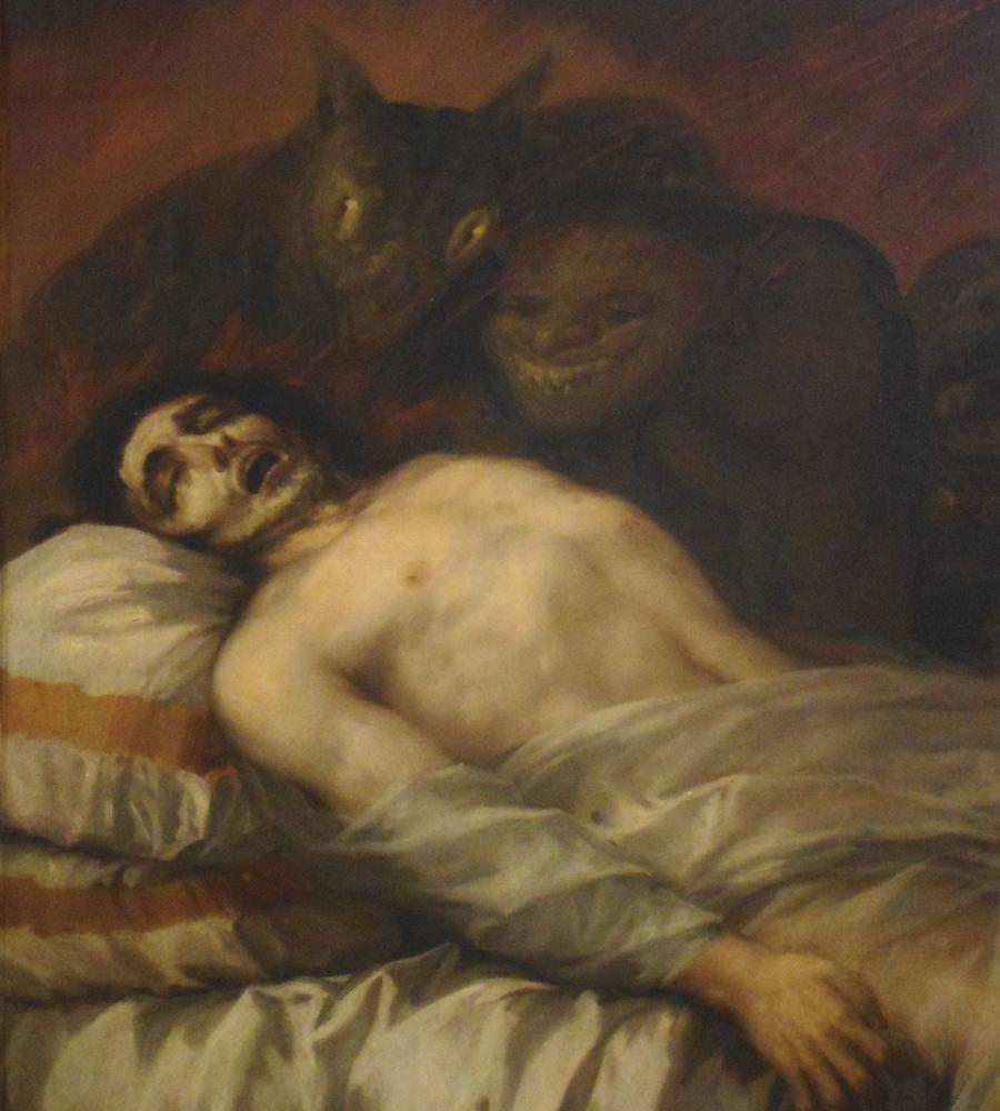 Francisco Goya, St. Francis Borgia Biten Ölmekte Olan Ölümsüz Yardım Ediyor, Figür, Francisco Goya, kanvas tablo, canvas print sales
