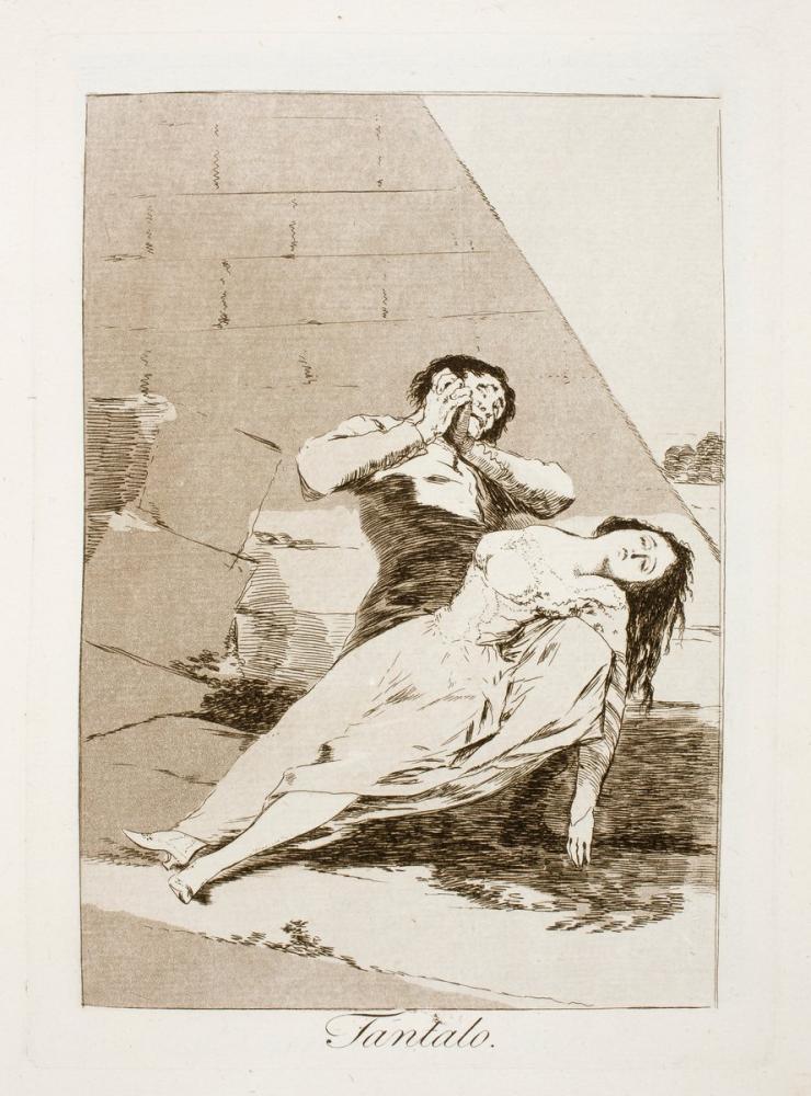 Francisco Goya, Tantalo, Canvas, Francisco Goya, kanvas tablo, canvas print sales