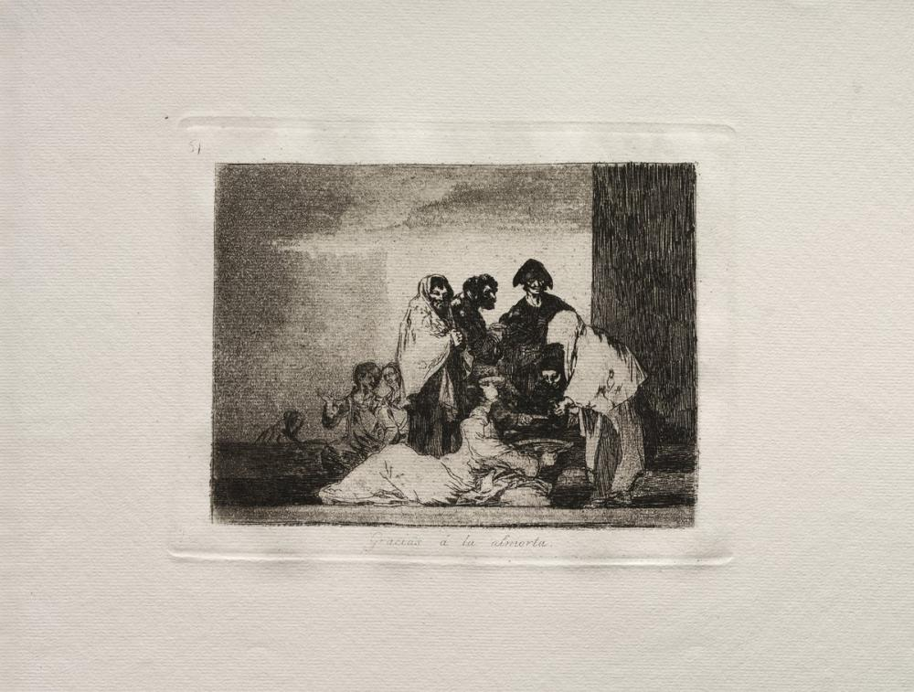 Francisco Goya, Thanks To The Millet, Canvas, Francisco Goya, kanvas tablo, canvas print sales