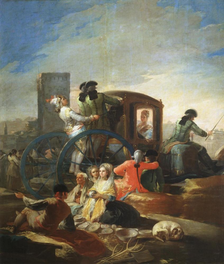 Francisco Goya, The Crockery Vendor, Canvas, Francisco Goya, kanvas tablo, canvas print sales