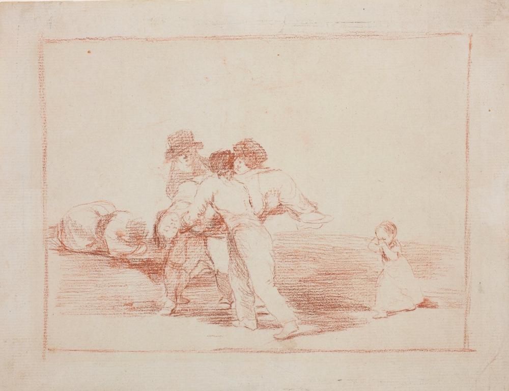 Francisco Goya, The Disasters of War, Figure, Francisco Goya, kanvas tablo, canvas print sales