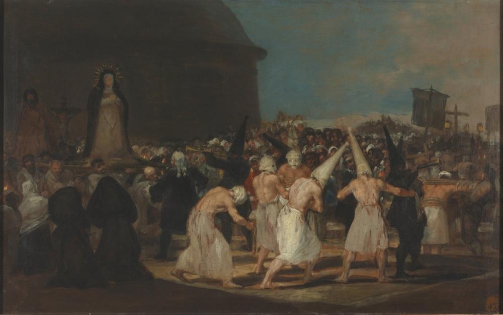 Francisco Goya, The Disciplining, Canvas, Francisco Goya, kanvas tablo, canvas print sales