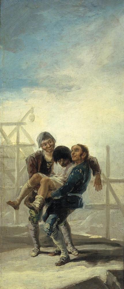 Francisco Goya, The Drunk Mason, Canvas, Francisco Goya, kanvas tablo, canvas print sales