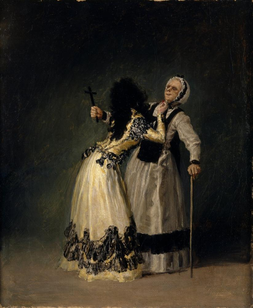 Francisco Goya, The Duchess of Alba and the Blessed, Canvas, Francisco Goya, kanvas tablo, canvas print sales