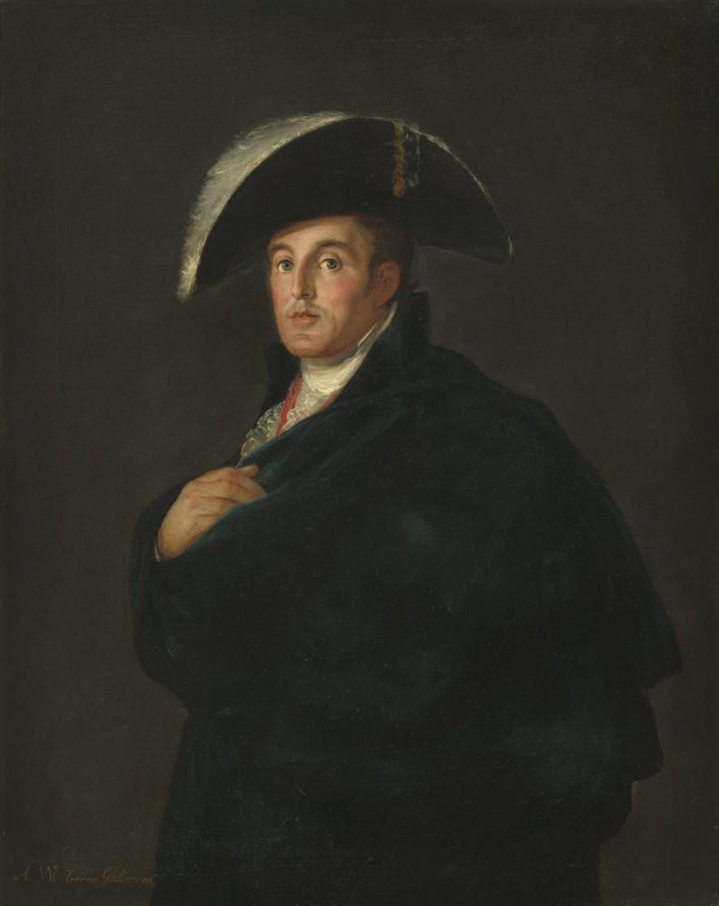 Francisco Goya, Wellington Dükü, Kanvas Tablo, Francisco Goya, kanvas tablo, canvas print sales