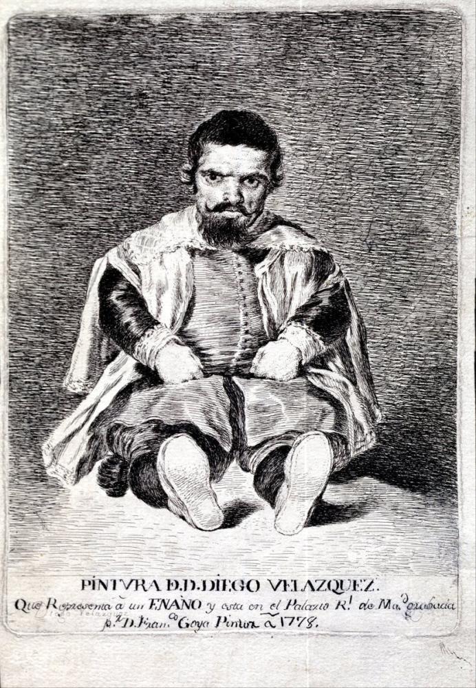 Francisco Goya, Felipe IV Cüce Sebastián de Morra, Kanvas Tablo, Francisco Goya, kanvas tablo, canvas print sales