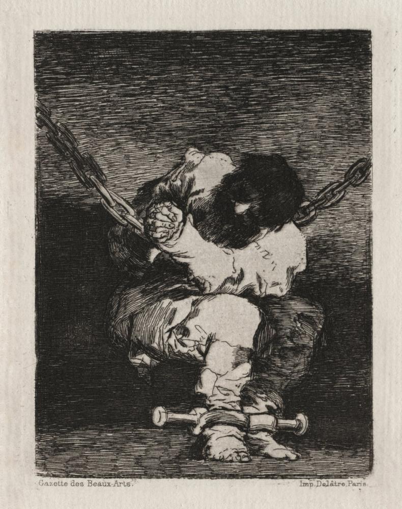 Francisco Goya, Küçük Mahkum, Kanvas Tablo, Francisco Goya, kanvas tablo, canvas print sales