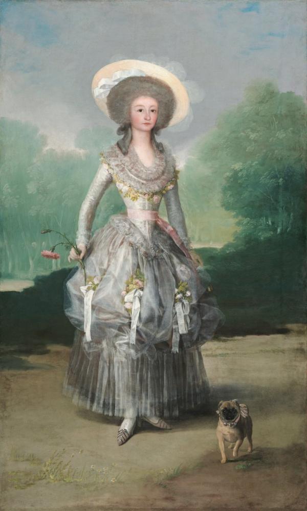 Francisco Goya, Pontejos un Markizisi, Kanvas Tablo, Francisco Goya, kanvas tablo, canvas print sales