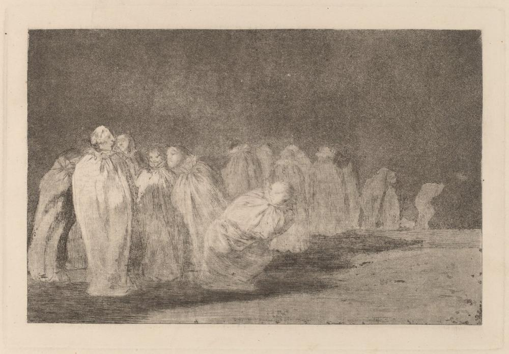 Francisco Goya, The Men in Sacks, Figure, Francisco Goya, kanvas tablo, canvas print sales