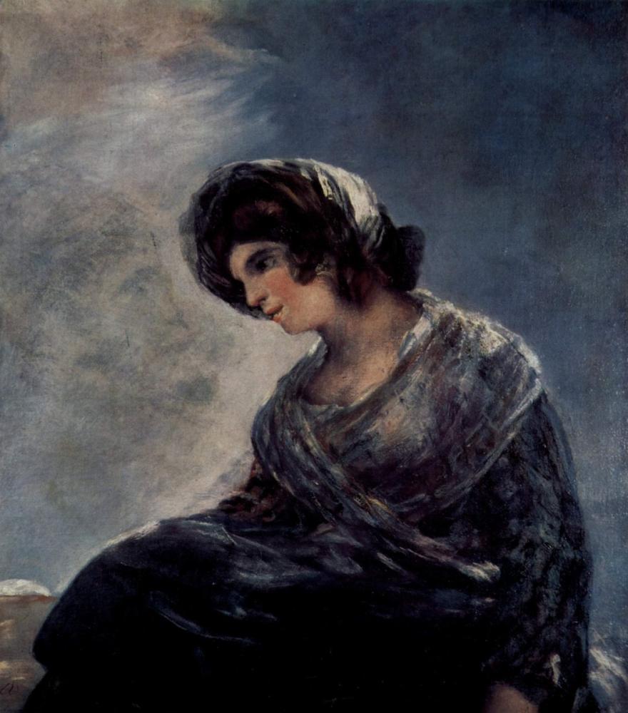 Francisco Goya, Bordeaux nun Sütçüsü, Kanvas Tablo, Francisco Goya, kanvas tablo, canvas print sales