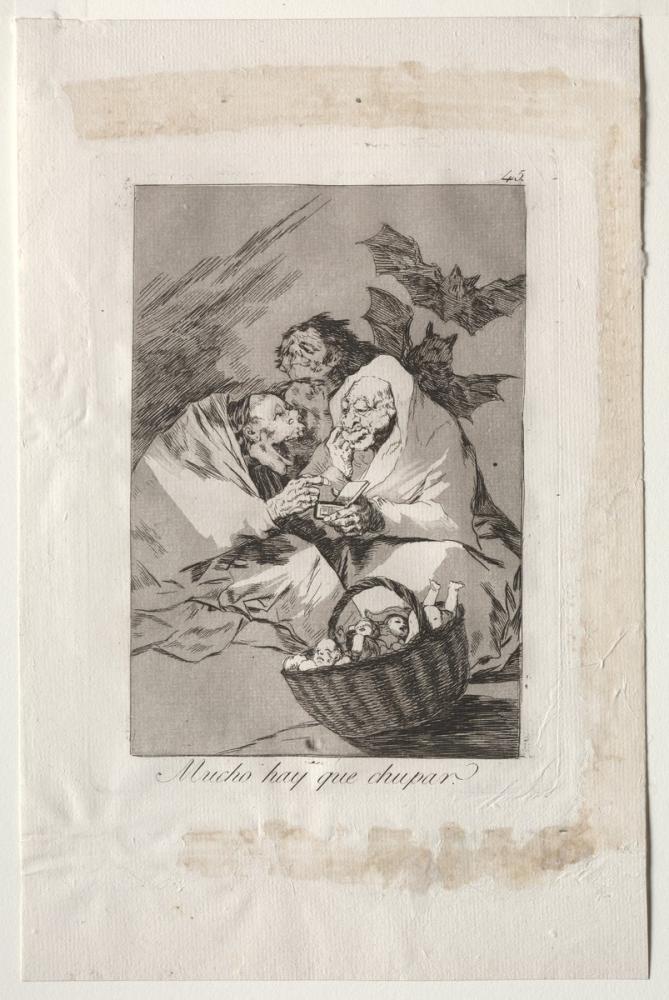 Francisco Goya, Çok Emecek Var, Figür, Francisco Goya, kanvas tablo, canvas print sales