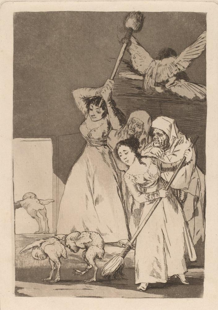 Francisco Goya, Koparıp Gittiler, Figür, Francisco Goya, kanvas tablo, canvas print sales