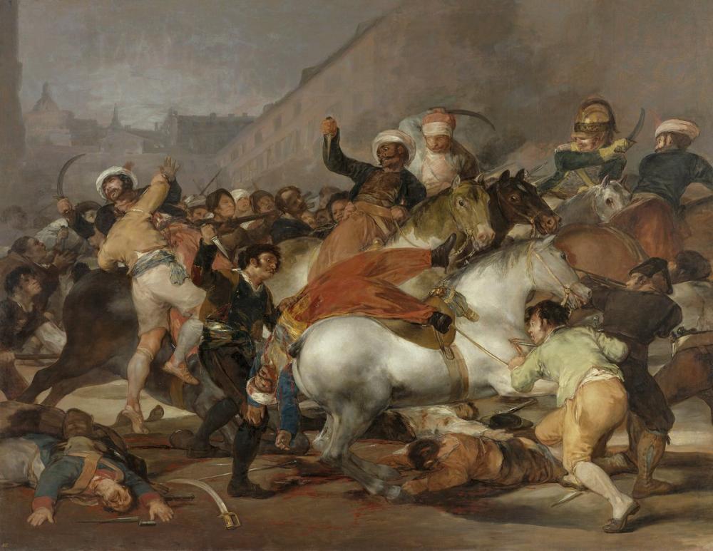 Francisco Goya, Mayısın İkincisi 1808, Kanvas Tablo, Francisco Goya, kanvas tablo, canvas print sales