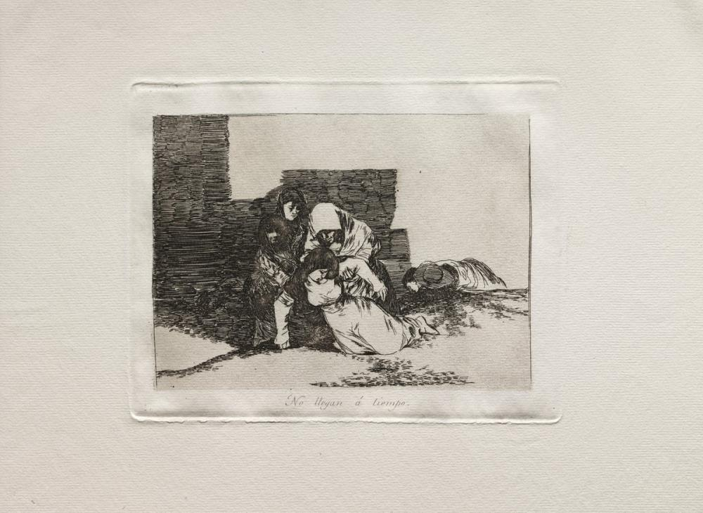 Francisco Goya, They Do Not Arrive In Time, Canvas, Francisco Goya, kanvas tablo, canvas print sales