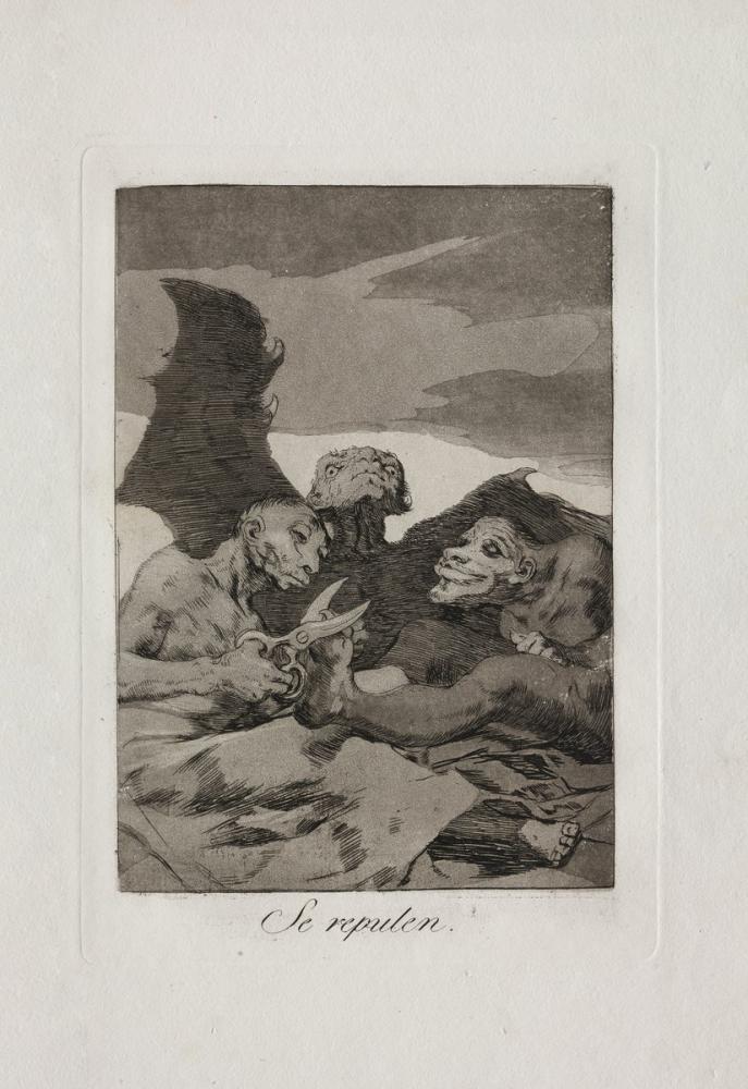 Francisco Goya, They Spruce Themselves Up, Figure, Francisco Goya, kanvas tablo, canvas print sales