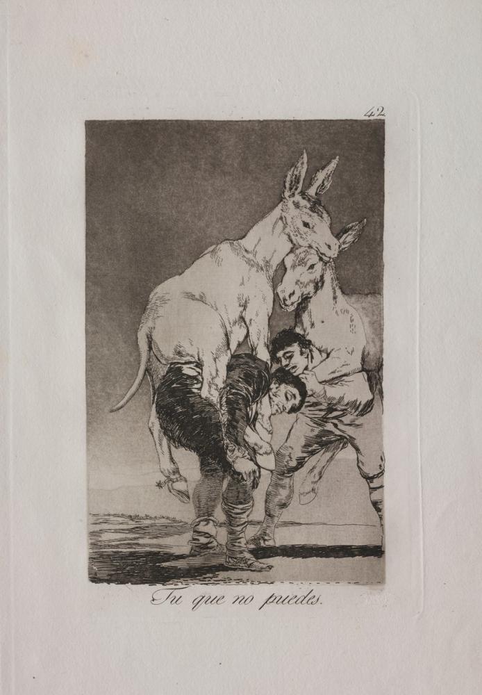 Francisco Goya, Thou Who Canst Not, Canvas, Francisco Goya, kanvas tablo, canvas print sales