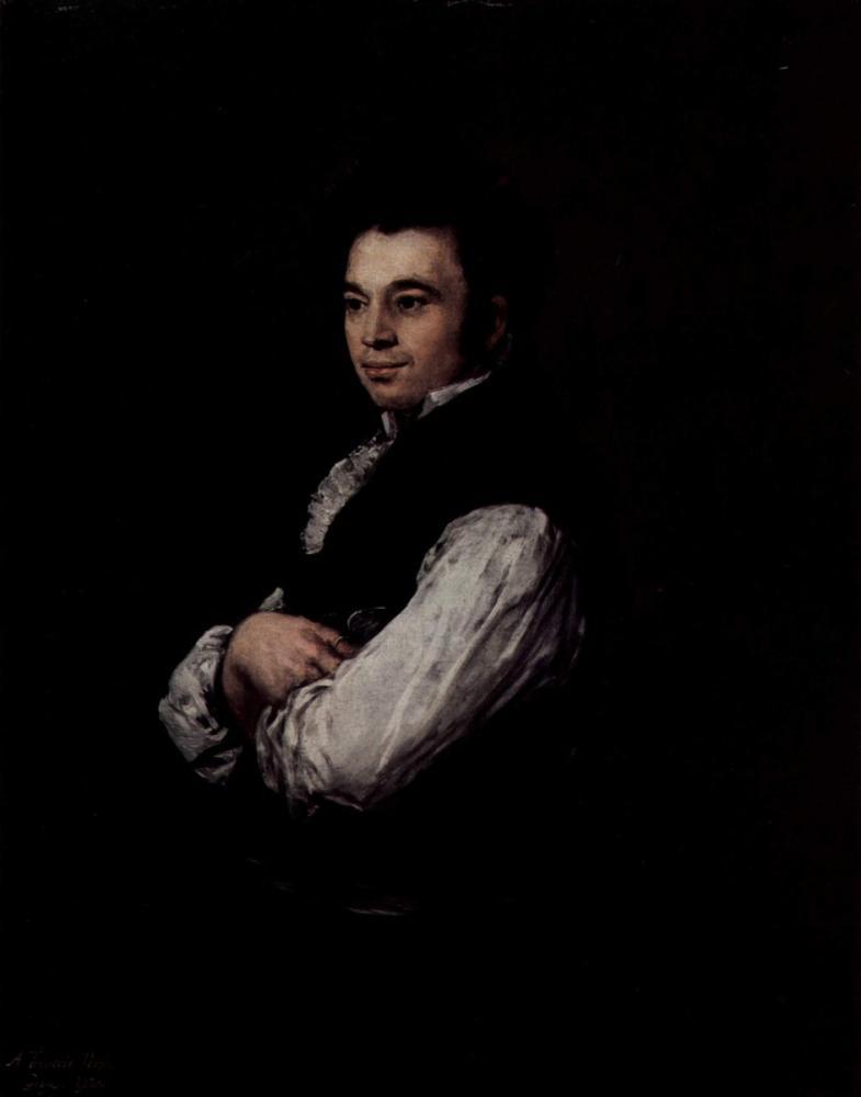 Francisco Goya, Tiburcio Pérez y Cuervo, Canvas, Francisco Goya, kanvas tablo, canvas print sales