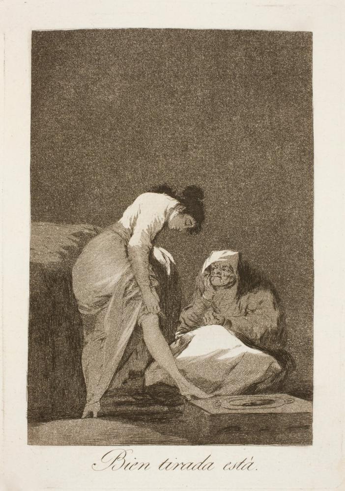 Francisco Goya, İyi Çekilmiş, Kanvas Tablo, Francisco Goya, kanvas tablo, canvas print sales