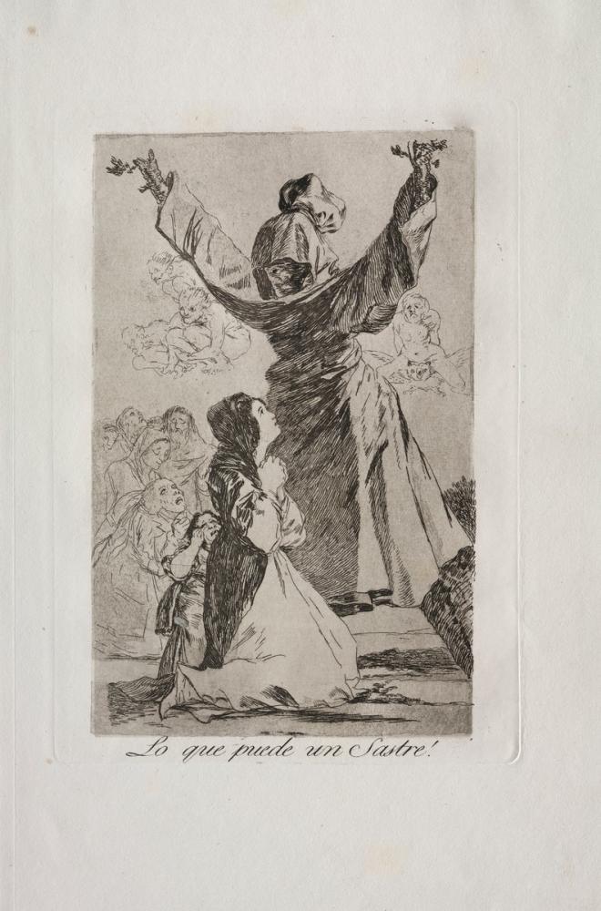 Francisco Goya, Bir Terzi Ne Yapabilir, Figür, Francisco Goya, kanvas tablo, canvas print sales