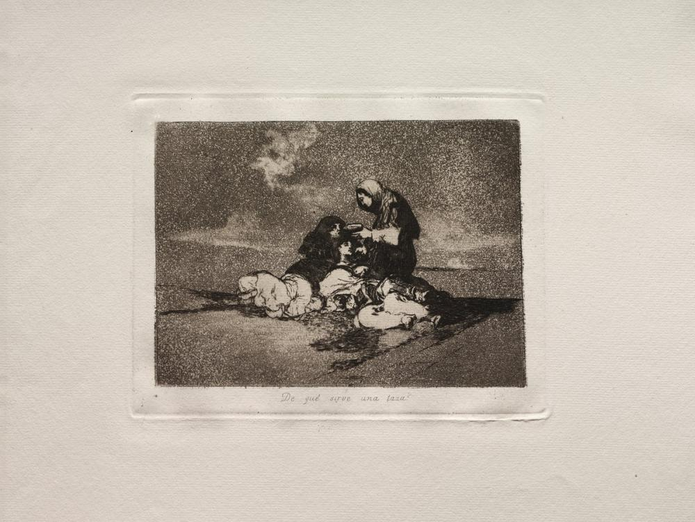Francisco Goya, What is the Use of a Cup, Figure, Francisco Goya, kanvas tablo, canvas print sales