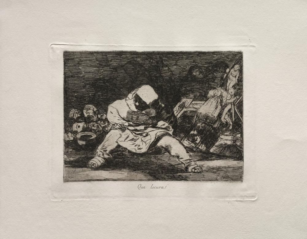 Francisco Goya, Ne Delilik, Figür, Francisco Goya, kanvas tablo, canvas print sales
