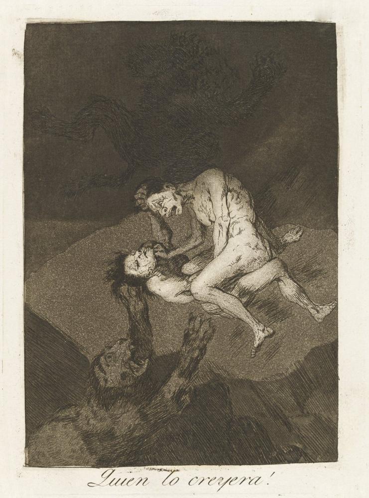 Francisco Goya, Who Would Have Thought It, Figure, Francisco Goya, kanvas tablo, canvas print sales