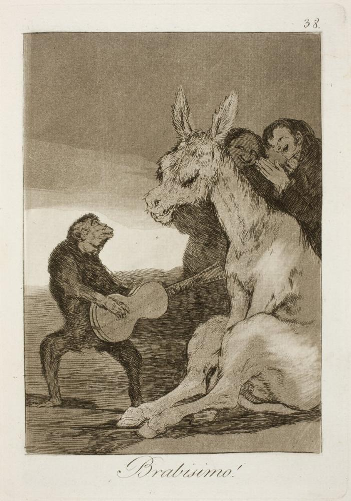 Francisco Goya, Brabisimo, Figür, Francisco Goya, kanvas tablo, canvas print sales