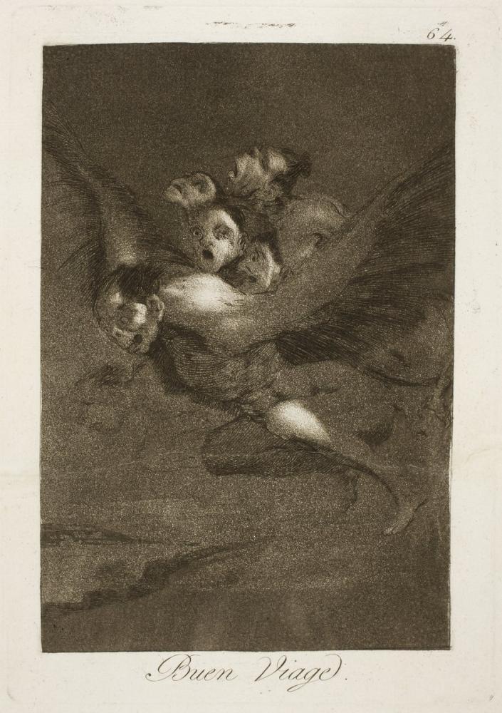 Francisco Goya, İyi Yolculuklar, Figür, Francisco Goya, kanvas tablo, canvas print sales