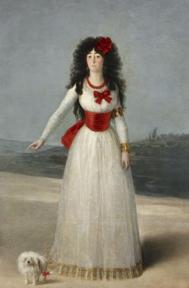Francisco Goya, Alba, Kanvas Tablo, Francisco Goya, kanvas tablo, canvas print sales