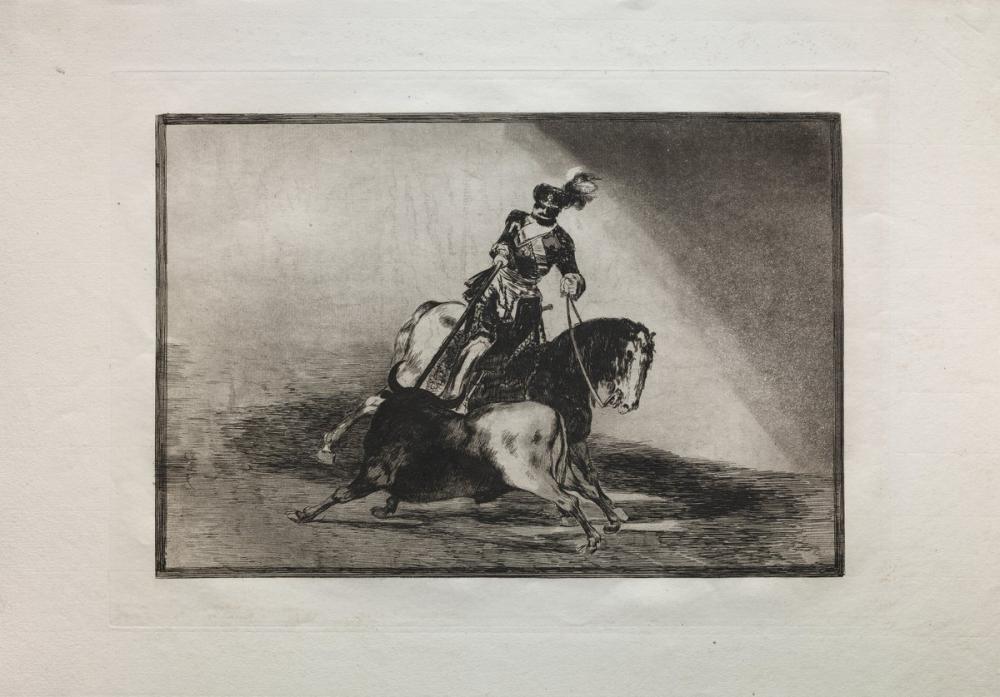 Francisco Goya, Bullfights Charles V Spearing A Bull, Figure, Francisco Goya, kanvas tablo, canvas print sales
