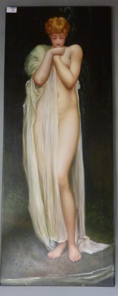 Frederic Leighton Listing Thumb, Canvas, Frederic Leighton, kanvas tablo, canvas print sales