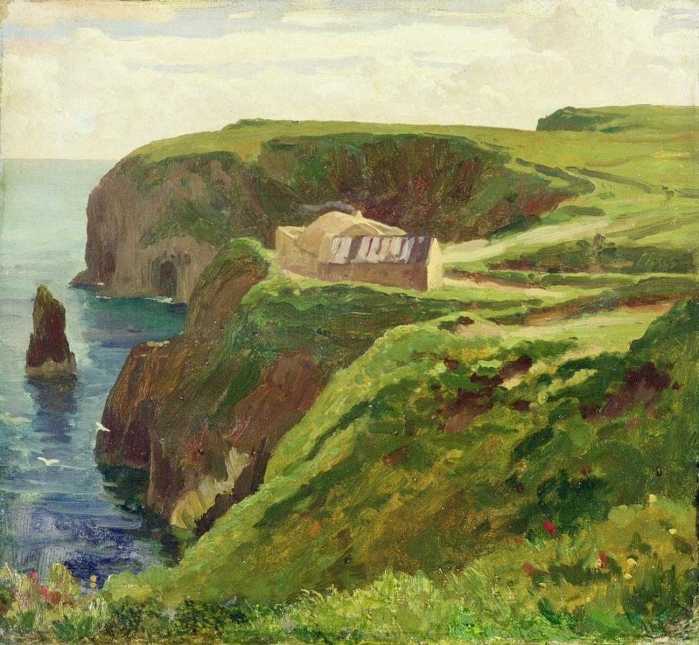 Frederic Leighton Malin Head Donegal, Canvas, Frederic Leighton, kanvas tablo, canvas print sales